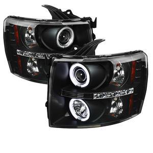 Spyder Auto 5033864 CCFL LED Projector Headlights