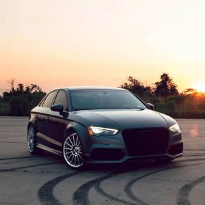 """20"""" HRE FF15 FLOW FORM SILVER STAGGERED CONCAVE WHEELS RIMS FITS AUDI R8"""