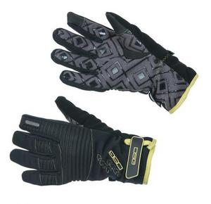 DSG Versa Style Womens Gloves Pineapple (Black, Small)