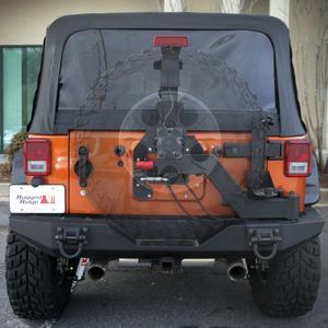 Rugged Ridge 11546.25 Xtreme Heavy Duty Tire Carrier Rear