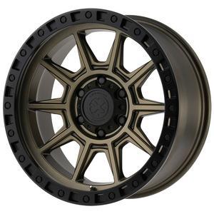 """ATX Series AX202 17x9 8x6.5"""" -12mm Bronze/Black Wheel Rim 17"""" Inch"""