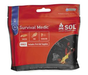 Adventure Medical Kits 0140-1747 Survive Outdoors Longer Survival Medic Kit