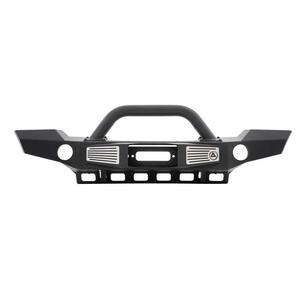Smittybilt 76892 XRC Front Bumper For 07-18 Wrangler JK Black Atlas