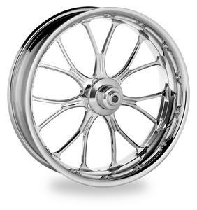 Performance Machine 1204-7106R-HEAAJ-CH Heathen Dual Disc Front Wheel - 23x3.5 - Chrome