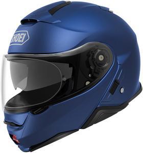 Shoei Neotec II Solid Helmet Matte Blue Metallic (Blue, Large)