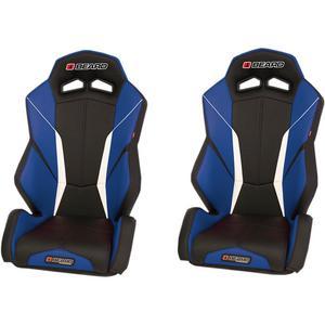 Beard Seats 852-536 Torque V2 Seats - Front - Black/Blue