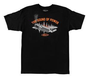 FMF Racing Sound of Power T-Shirt (Black, X-Large)