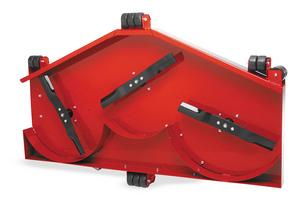 QuadBoss 9004 Finish Cut Mower Blade - Includes 1 blade-sold individually - 3 required per mower