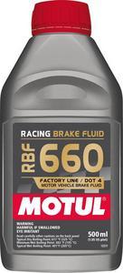 Motul USA DOT 4 Brake Fluid 500ml Case of 12 P/N 101667-12