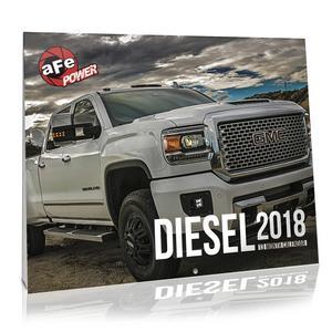 AFE Filters 40-10197 2018 Diesel Calendar