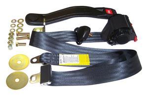 Crown Automotive BELT3B Seat Belt Set Fits 82-95 CJ5 CJ7 Scrambler Wrangler (YJ)