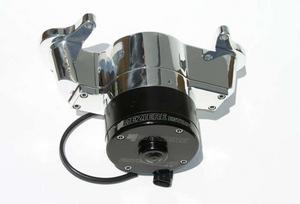 MEZIERE Polished Alum 100 Series Electric Water Pump Kit Oldsmobile P/N WP135U