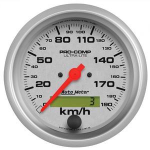 AutoMeter 4487-M Ultra-Lite In-Dash Electric Speedometer