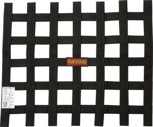 RACEQUIP 15 x 18 in Rectangle Black Window Net P/N 726001