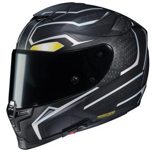 HJC RPHA 70 ST Marvel Black Panther Helmet Semi-Flat Black (MC-5SF) (Black, XX-Large)