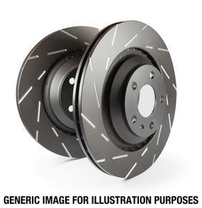 EBC Brakes USR7221 EBC USR Series Sport Slotted Rotor Fits 04-11 RX-8