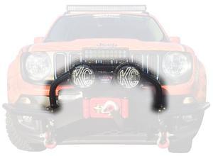 Daystar KJ50003BK Winch Bumper Light Bar Mount Fits 15-17 Renegade