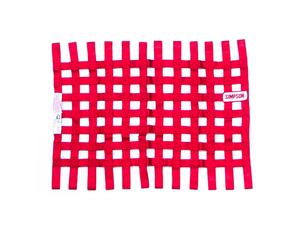SIMPSON SAFETY 18 x 24 in Rectangle Red Window Net P/N 36002RD