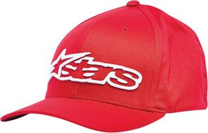 Alpinestars ADULT Hat Blaze Red/White L/XL Large/Extra Large