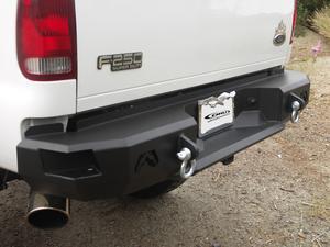 Fab Fours FS08-W1350-B Heavy Duty Rear Bumper