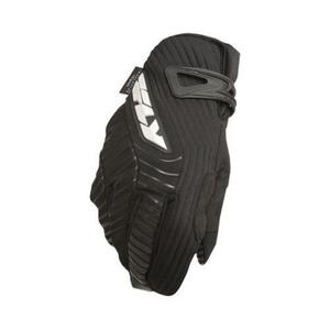 Fly Racing Title Long Cold Weather Gloves (Black, 6 Long)