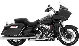 Magnaflow Slip On Mufflers Top-Gun Chrome For Harley Davidson FLH FLT 2017