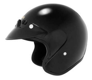 Cyber U-6 Motorcycle Open Face Helmet Black XS