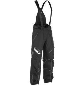 Fly Racing SNX Pro Snowbike Pants (Black, X-Large)
