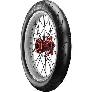 Avon Tyres 4120012 Cobra Chrome AV91 Front Tire - 120/70ZR19
