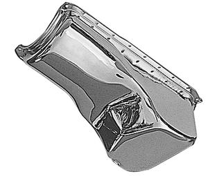 "Trans-Dapt Performance CHROME ""OEM-Style"" Oil Pan; Ford 351C, 351M, 400 (Not for"