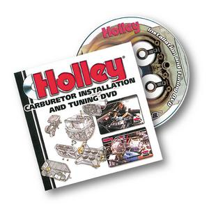 Holley Performance 36-378 Carburetor Installation And Tuning DVD