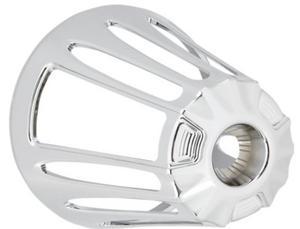 Arlen Ness 81-103 Monster Sucker Air Cleaner Cover - Deep Cut - Chrome