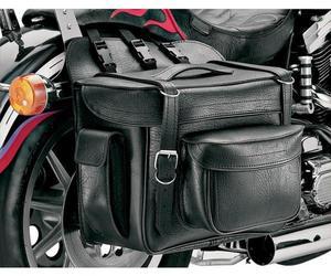 All American Rider 9902P XXXL Box-Style Detachable Saddlebag - Plain