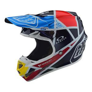 Troy Lee Designs SE4 Carbon Metric Helmet Navy (Blue, Large)