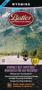 Butler Maps MP-119 G1 Series Map - Wyoming