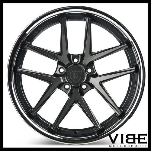 19 Rohana Rc9 Graphite Concave Wheels Rims Fits Benz W211 E350 E500
