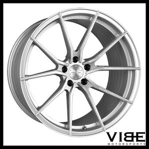 "21"" VERTINI RF1.2 SILVER FORGED CONCAVE WHEELS RIMS FITS LEXUS LS460 LS600"