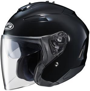HJC IS-33 II Solid Helmet (Black, XX-Large)