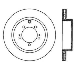 StopTech 126.46065SL StopTech Sport Rotors Fits 03-06 Lancer