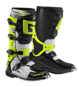 Gaerne SG-10 Boots White/Black/Yellow (Black, 7)