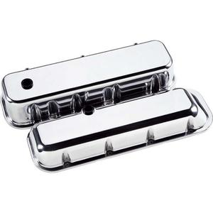 BILLET SPECIALTIES BBC Polished Short Valve Covers P/N 96029