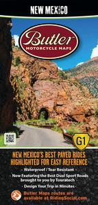 Butler Maps MP-108 G1 Series Map - New Mexico