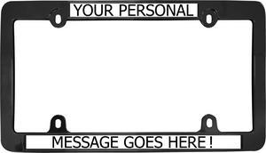 Cruiser Accessories 40159 Fashion License Plate Frame