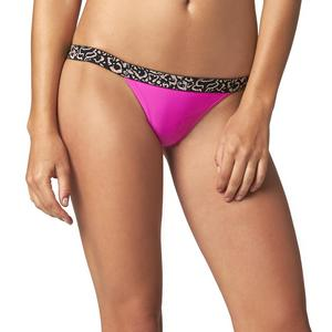 Fox Vapors Skinny Womens Elastic WB Bottom Fuchsia (Pink, Small)