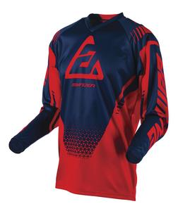 Answer Syncron Drift Youth Jersey Bright Red/Midnight (Red, X-Small)
