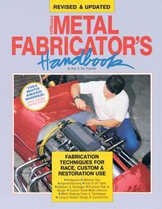 HP Books Metal Fabricator's Handbook P/N HP709