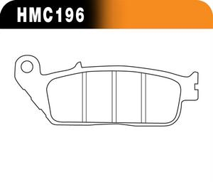 Hawk Performance HMC5004 Sintered Metallic Disc Brake Pads