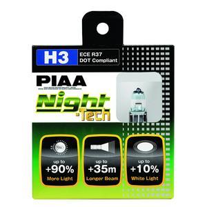 PIAA 10703 H3 Night-Tech Fog Light Replacement Bulb
