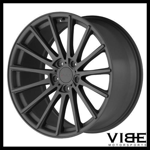 19 Tsw Chicane Gunmetal Concave Wheels Rims Fits Mercedes W204 C250