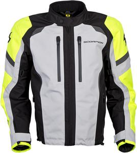 Scorpion Adult Optima Waterproof Dual Sport Motorcycle Jacket Hi-Viz L